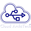 Cloud ArchiTech Updated Logo White
